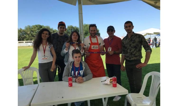 Çorlu Kovucu Irklar Yarışmasında Yerimizi Aldık